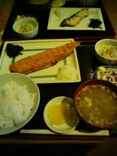 食事 焼魚定食